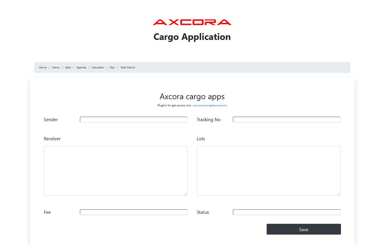 aplikasi kargo ekspeidisi logistik pengiriman software program gratis download