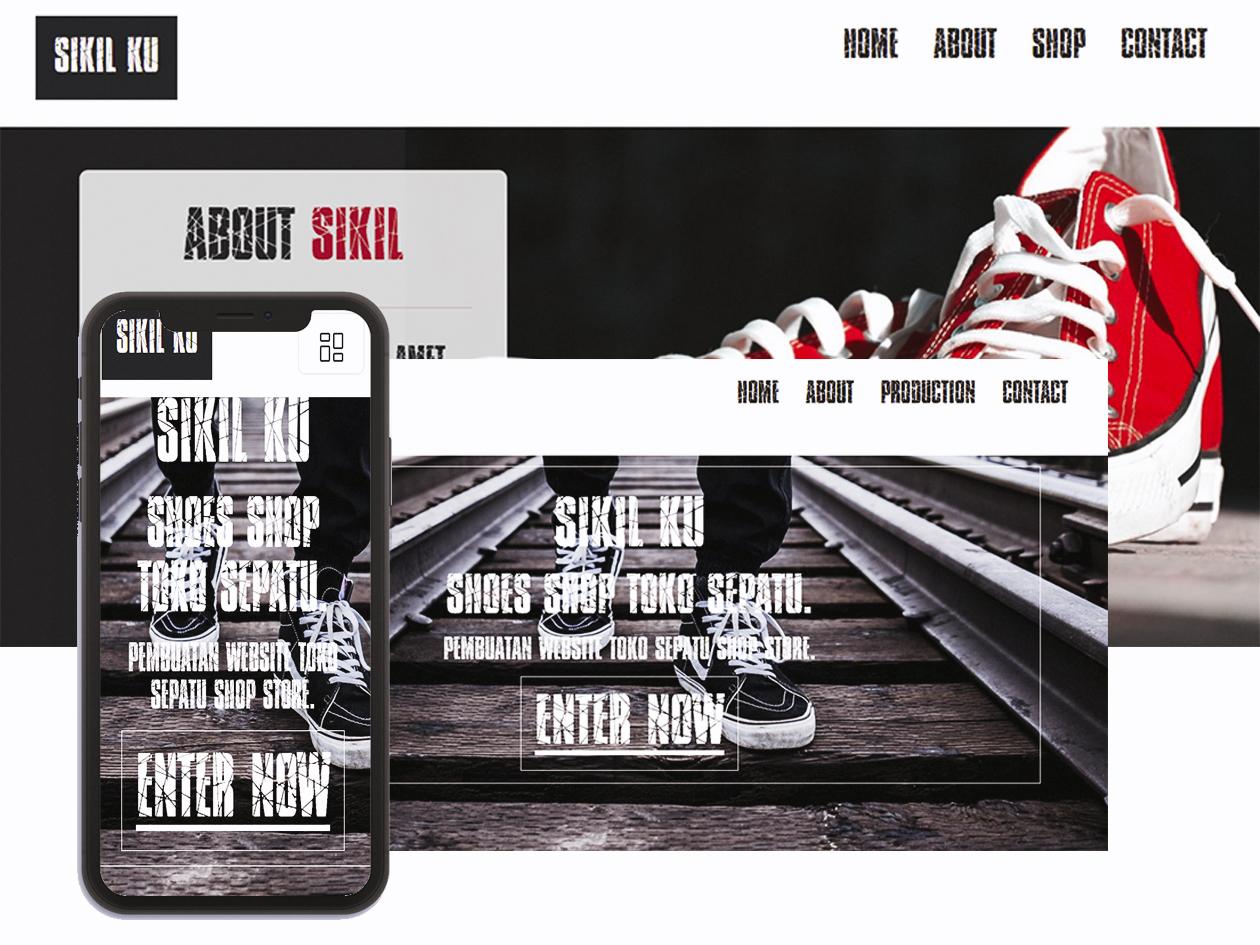 website toko sepatu sandal shoes shop
