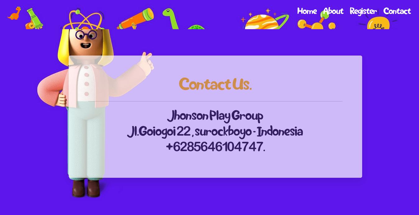 Pembuatan website playgroup